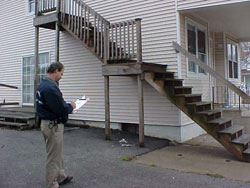 Rental Property Stair Inspection
