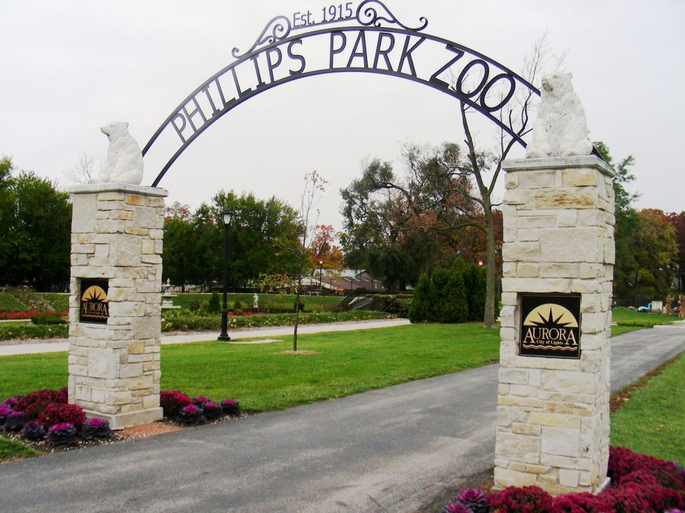 Phillips Park Zoo Arch